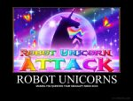 Robot Unicorns by XxBloodyButterflyxX