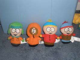 South Park Plushies :D by SkunkyRainbow270
