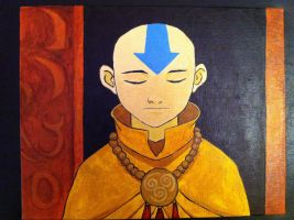 Avatar Aang by The-Iby