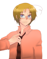 Hetalia - Dear Matthew by megane-no-buta