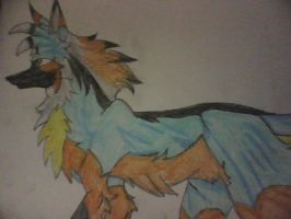Led the wolf- from chakra comic by Nintendo-Lover-Kat