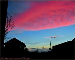 Sky over Glasgow 2 by brijome