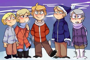 Nordics Winter 2 by Melartin