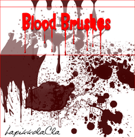 Blood Brushes by LaPikkolaCla
