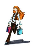 shopper girl by HILLYMINNE