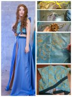 Margaery Tyrell Cosplay Processing  by WuHara