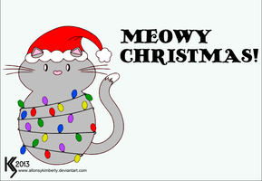 Meowy Christmas by allonsykimberly