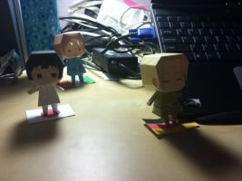 Hetalia Axis Powers Papercraft by hetafan19