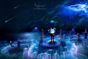 Aliens world by annemaria48