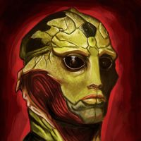 Thane Krios by SpartanIdeal