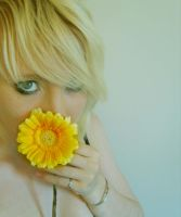 Yellow Flower Kiss by Red--Roses