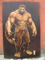 burned hulk finished by burninginkworks