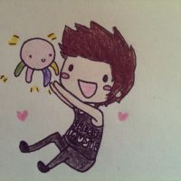 Austin Carlile and Squidgy by cascadeofstars