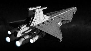 Imperial Venator-class Star Destroyer by ExoticcTofu