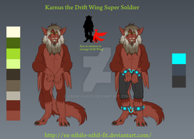 Karnus the genetically engineered Drift Wing by Ex-nihilo-nihil-fit
