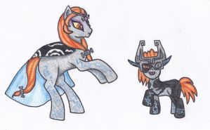 Ponified Midna- Legend of Zelda by SarahThePegasister