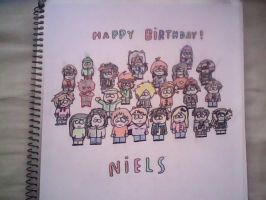 Happy Birthday! Niels by rikubattle