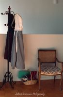 Hatstand and Chair by SelenaMarie