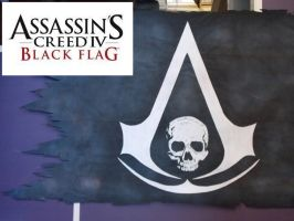 ACIV-BF Final Flag!*Hand Painted* by CosTitan-Productions