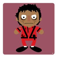 michael jackson thriller by striffle