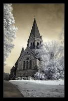 IR and the Sofia Church by Basement127
