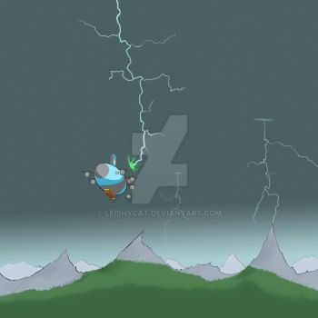 Outrunning the Storm by Divals