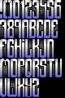 TheDraw Ansi Font 'Obsession' by roy-sac