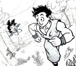 gohan and goten time by COOKEcakes