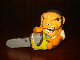 Leatherface by plastilinero