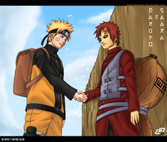 Hokage and Kazekage Collab by BuD-bUd