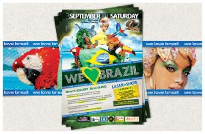 WE LOVE BRAZIL by jotapehq