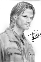 Sam Winchester (Signed) by MissMinority