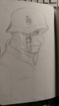 SS Solider by usernamedouble07