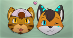 Chibi Icons by mytigertail