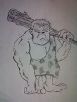 CaveMan by galis33