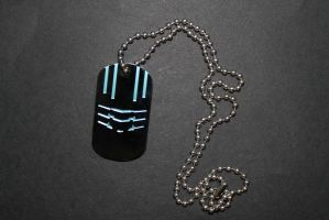 Dead Space 3 Dog Tags (1 of 2) by sabresteen