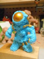 Space Diver by hellgnome