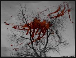 Bloody Tree by BUNNYxHEAD