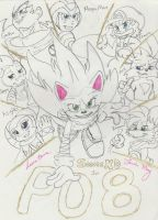 Sonic XD_Power of 8_Cover by LoonataniaTaushaMay