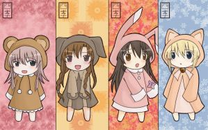 ..FourSeasons_Bookmarks.. by Koori-sae-chan
