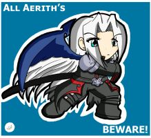 .:KH All Aerith's Beware:. by Dawnrie