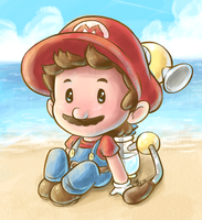 Mario Sunshine by Rainmaker113