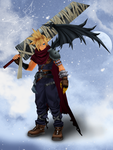 Cloud KH 1 [XPS] by LexaKiness