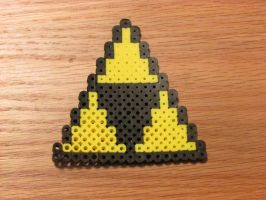 perler triforce by hanner2499