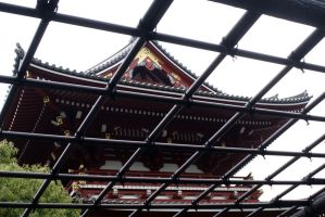 Temple Gate by Fuyou-hime