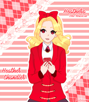 Heather Chandler (Heathers The Musical) by pastelaine-art