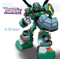 Transformers X-Brawn by ninjha