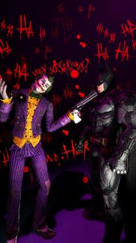 WHY SO SERIOUS? by 12evenZ