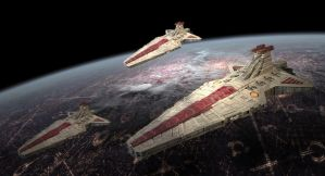 Venator class Star Destroyers by Balsavor