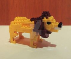 Lion Lego by GiftedChild777